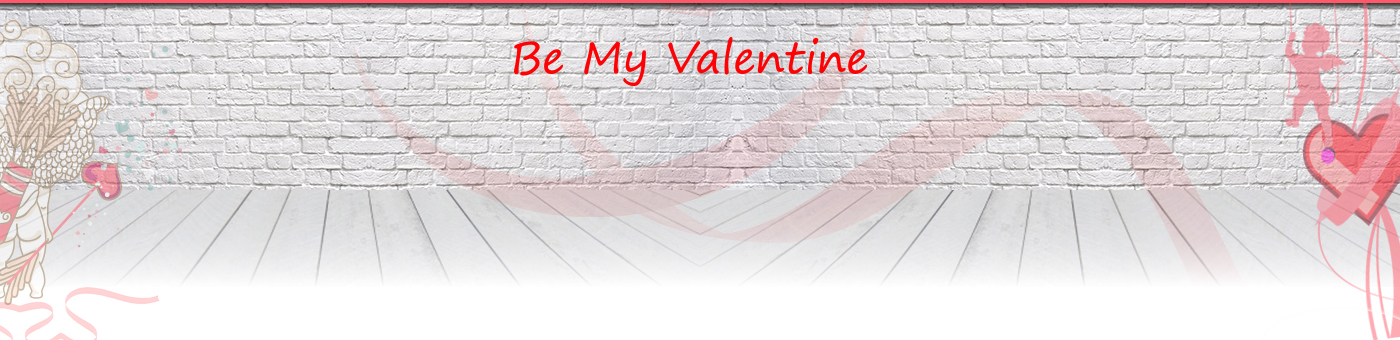 Slider Prima Pagina - Be my Valentine