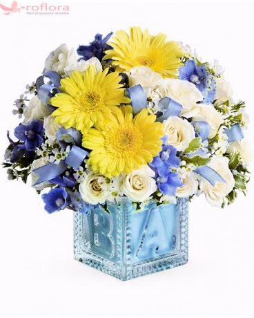 Buchet blue boy