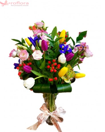 In love – Buchet din flori mixte – Roflora