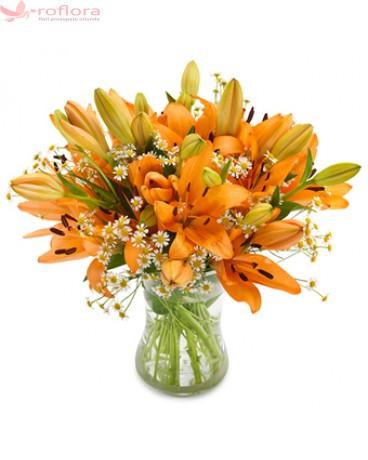 Joyful Lily – Buchet din crini