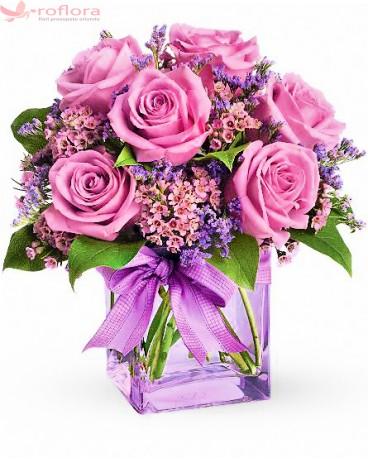 De ce sa daruiesti flori unei proaspete mamici