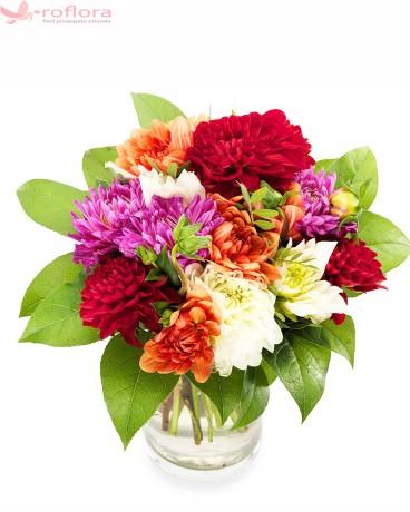 Buchet din crizanteme