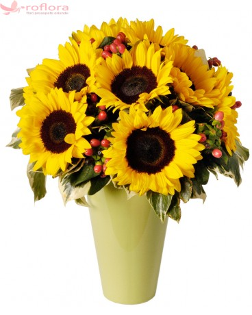 Sunflower - Buchet din floarea soarelui
