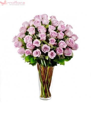 Tandrete – Buchet din 37 trandafiri roz