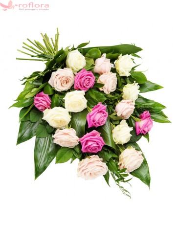 Un Ultim Gand – Buchet cu trandafiri