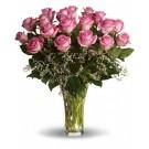 Candy rose - Buchet din 19 trandafiri roz
