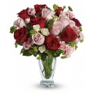 Mad about You Deluxe - Buchet de trandafiri si minirosa