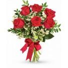 Ruby love - Buchet de 7 trandafiri rosii