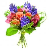 Active joy – Buchet din orhidee, trandafiri si zambile