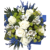 Arctic Queen - Buchet cu flori albe mixte