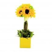 Celebration - Aranjament din floarea-soarelui si allium