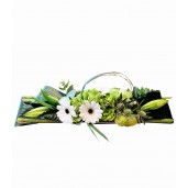 Coffee Table - Aranjament din gerbera si garoafe