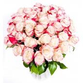 Dragoste pariziana Deluxe - Buchet de trandafiri roze