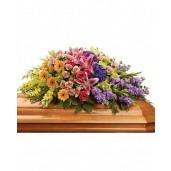 Eternal Spring - Aranjament din trandafiri, hortensii, crini si gladiole