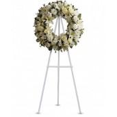 Gentle Spirit - Coroana din flori albe