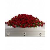 Greatest Love - Aranjament pentru sicriu din trandafiri