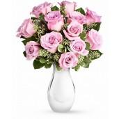 Purple velvet - Buchet din 13 trandafiri