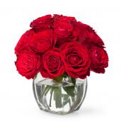 Red Velvet - Buchet cu 11 trandafiri rosii