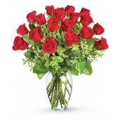 Simple Passion - Buchet din 19 trandafiri rosii