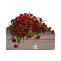 Adoration - Aranjament din garoafe rosii