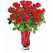 Aroma Dragostei Preferata – Buchet cu 19 trandafiri rosii