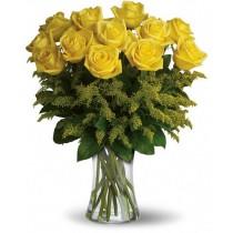 Bright Memories - Buchet din trandafiri galbeni