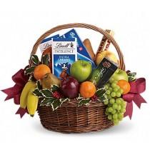 Bunatati - Cos gourmet cu fructe si ciocolata