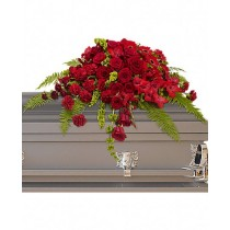 Cherished - Aranjament din trandafiri, gerbera si garoafe