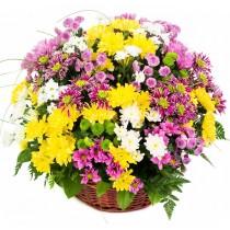 Crizantema - Cos din crizanteme