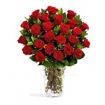 Doar rosii – Buchet din 23 trandafiri rosii