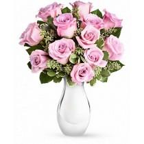 Purple velvet - Buchet din trandafiri