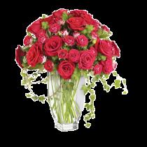 Regalis – Buchet din trandafiri rosii