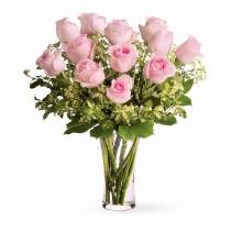 Roze Roz – Buchet cu 13 trandafiri roz