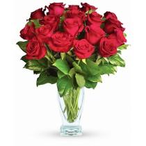 Ruby Rose Perferred – Buchet cu 19 trandafiri rosii