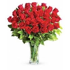 Cantecul Dragostei Deluxe – Buchet cu 33 trandafiri rosii