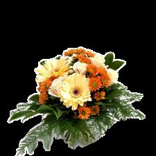 Darling – Buchet cu trandafiri, gerbera si crizanteme
