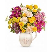 Fancy bouquet - Buchet din minirosa, garoafe si crizanteme