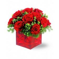 Feeric - Buchet din trandafiri rosii
