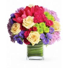 O zi minunata - Buchet cu flori mixte