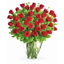 Parfumul Fericirii Deluxe – Buchet cu 37 trandafiri rosii