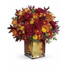Vis de Iarna - Buchet din crini, trandafiri si lisianthus