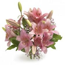Pinky Lily  – Buchet din crini roz