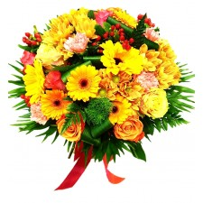 Ploaie de Raze – Buchet cu flori mixte