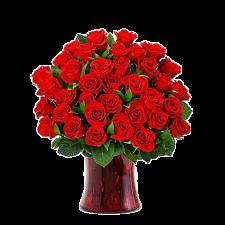 Puterea Dragostei – Buchet din 35 trandafiri rosii