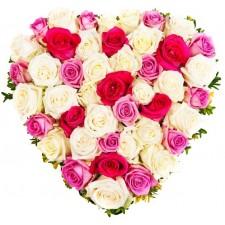 Sweet heart - Inima din trandafiri