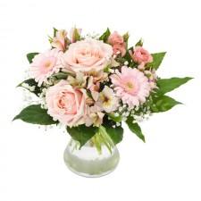 Sweetness – Buchet din trandafiri, alstroemeria si gerbera