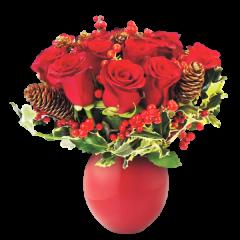 Carol – Buchet din 11 trandafiri rosii