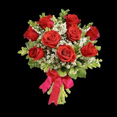 In al Noualea Cer - Buchet din trandafiri rosii