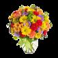 De Ziua Ta – Buchet cu alstroemeria, crizanteme si garoafe