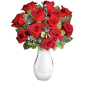 Focos - Buchet din 13 trandafiri rosii